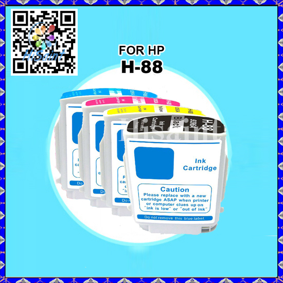 1Set Compatible Ink Cartridge for HP 88XL C9396A C9391A C9392A C9393A Printers Officejet K550/K550dtn/K5400dn/K8600/L7580/L7590(China (Mainland))