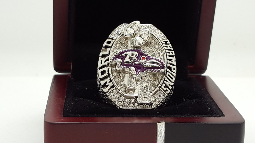2012 Baltimore Ravens super bowl Championship Ring 11 Size high quality in stock for sale .(China (Mainland))
