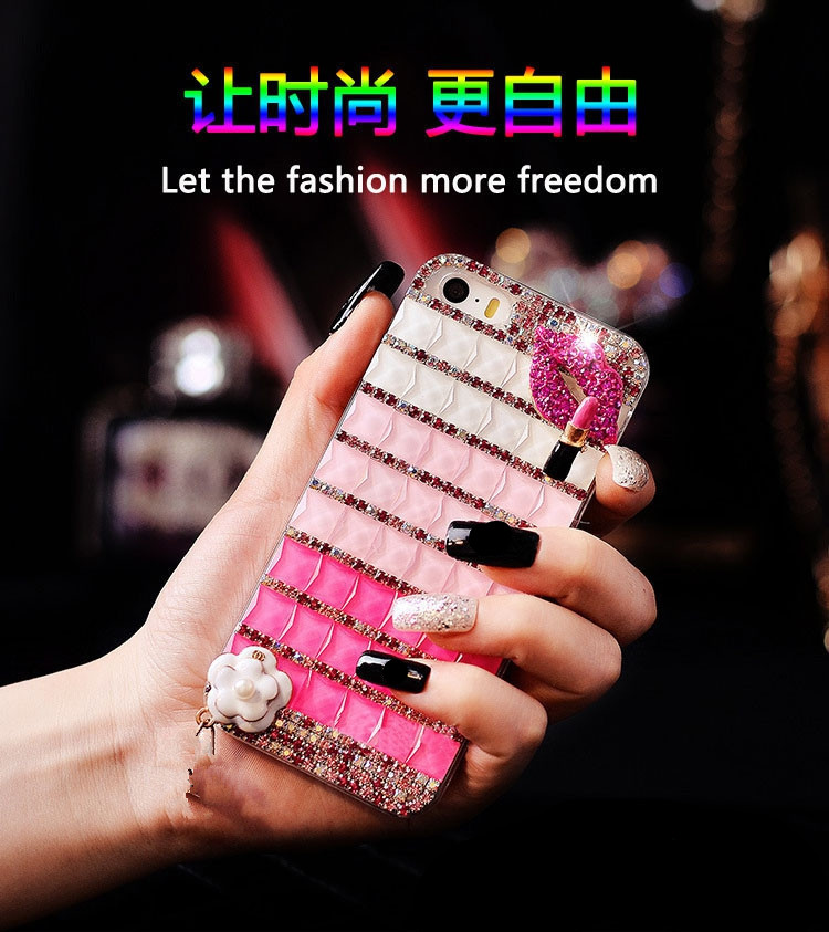 Bling crystal tones diamond phone cases For Apple iPhone 6 plus(China (Mainland))