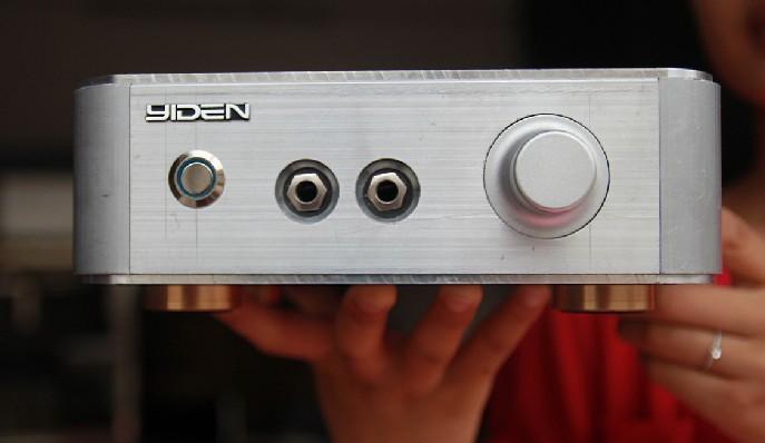 Beyerdynamic A1 amp kit , aluminum amplifier chassis/AMP case Enclosure / headphone amp case / PSU Box DIY ( 215 * 215 * 66mm )(China (Mainland))
