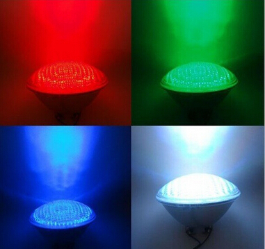 led pond lights underwater 40W RGB PAR56 12v Swimming Pool Light led pool lights Underwater lights free shipping(China (Mainland))