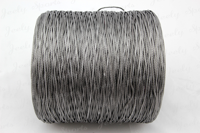 Free Shipping 500m 350lb UHMWPE Fiber BRAID KITESURFING CORD 1.3MM 6 strands super power