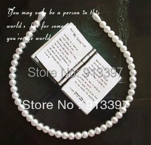 50PCS Simulation Imitation Faux Pearl Fashion Stylish & Hair Band Useful Headbands Popular Hair Hoop