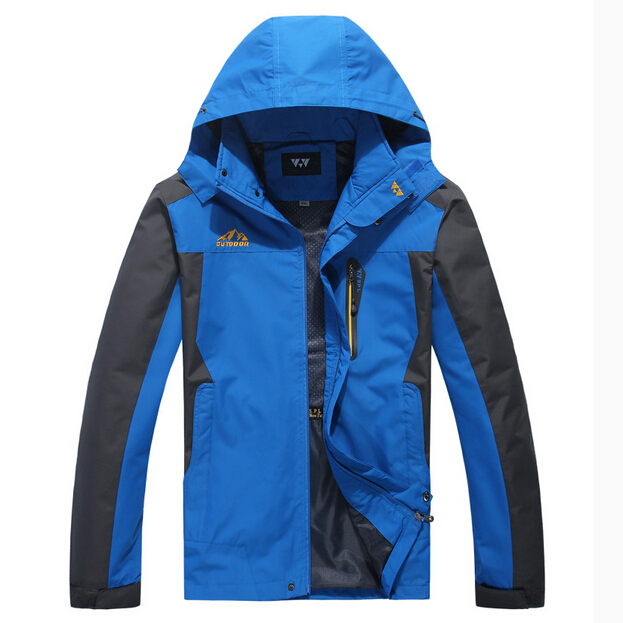 8XL 7XL ~L B2241 Spring autumn brand Men sports casual warm outdoor coat male plus size jacket Mountaineering outerwear man(China (Mainland))