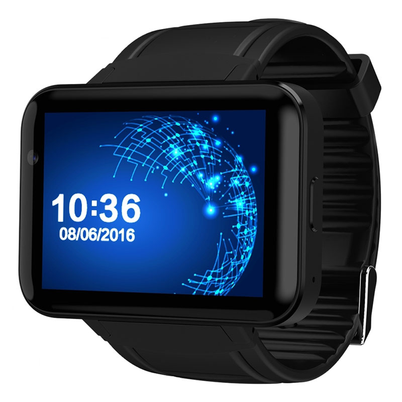 DOMINO DM98 Bluetooth Smart Watch 2.2 inch Android 4.4 OS 3G Smartwatch Phone MTK6572A Dual Core 1.2GHz 4GB ROM Camera WCDMA GPS(China (Mainland))