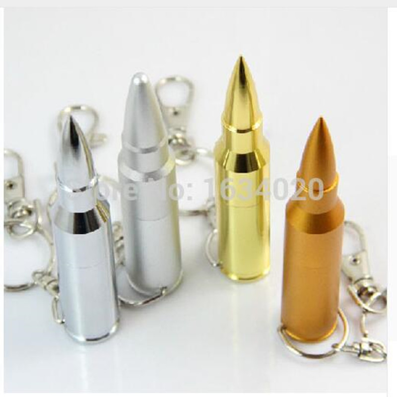New Hot Bullet Shape USB Flash Drives Memory Storage Pendrives USB 2.0 High Speed 64GB 32GB 16GB 8GB 4G Thumbdrive Card Stick(China (Mainland))