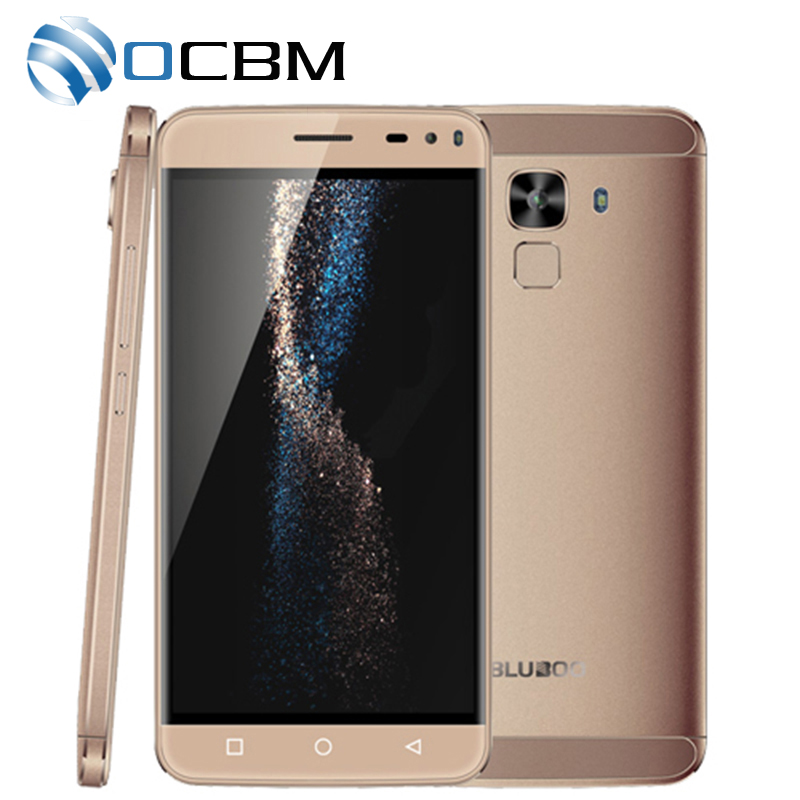 New Hot BLUBOO Xfire 2 Mobile Phone Android 5.1 HD 5.0 inch MTK6580 Quad Core 3G WCDMA 5.0MP 1GB RAM 8GB ROM Dual SIM Touch ID