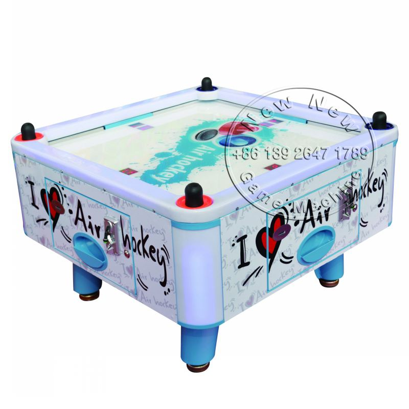 4 People / Person Kids Children Coin Operated Square Air Hockey Table Game Machine(China (Mainland))
