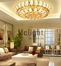 Manufactory New Arrival K9 Crystal Chandelier Pendant Lamp Luxury Crystal Ceiling Light Fixture Lusters Stock (China (Mainland))