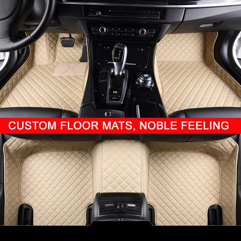 Special custom made car floor mats for Kia Sorento Sportage Optima K5 Forte Cerato K3 Cadenza waterproof leather carpet liners(China (Mainland))