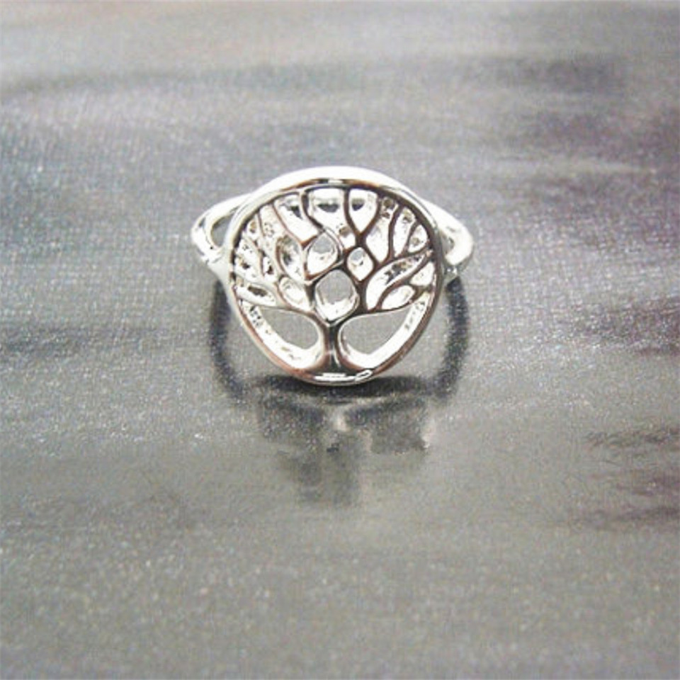 Vintage Boho Jewelry Tree Of Life Ring For Men Women European Style Brand Design Jewelry Best Christmas Family Union BFF Gift(China (Mainland))