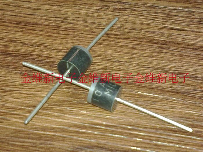 Free shipping 200pcs/lot High- rectifier diode 10A10 10A /1000V 1KV 10 Amp Axial Rectifier Diode Best quality.