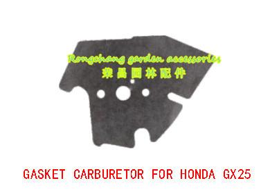 THE LAWN MOWER PARTS GASKET CARBURETOR FOR HONDA GX25(China (Mainland))