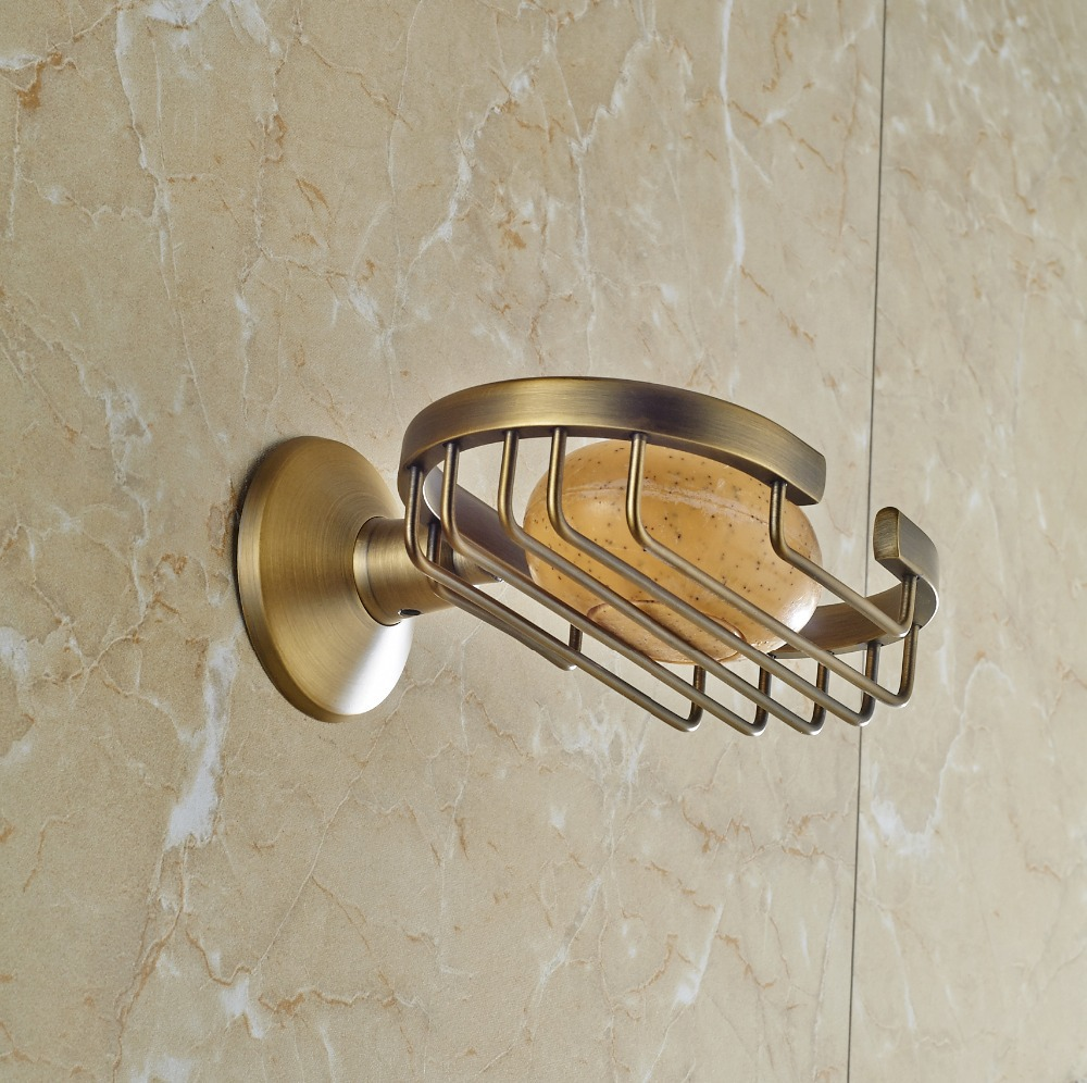NEW Arrival modern Antique bronze finish brass Soap basket /soap dish/soap holder /bathroom accessories(China (Mainland))