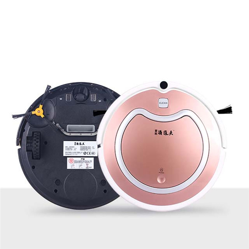 Sweep Suction Carpet Floor Used Robot Vacuum Cleaner 1200 Pa Suction 2 Hours Working Time For 150Sqm Plus Big House(China (Mainland))