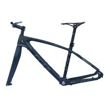 "2017 FCFB mtb bike frame carbon mountain carbon frame 27.5er*15.5"" 17inch carbon handlebar seatpost stem saddle ems free ship(China (Mainland))"