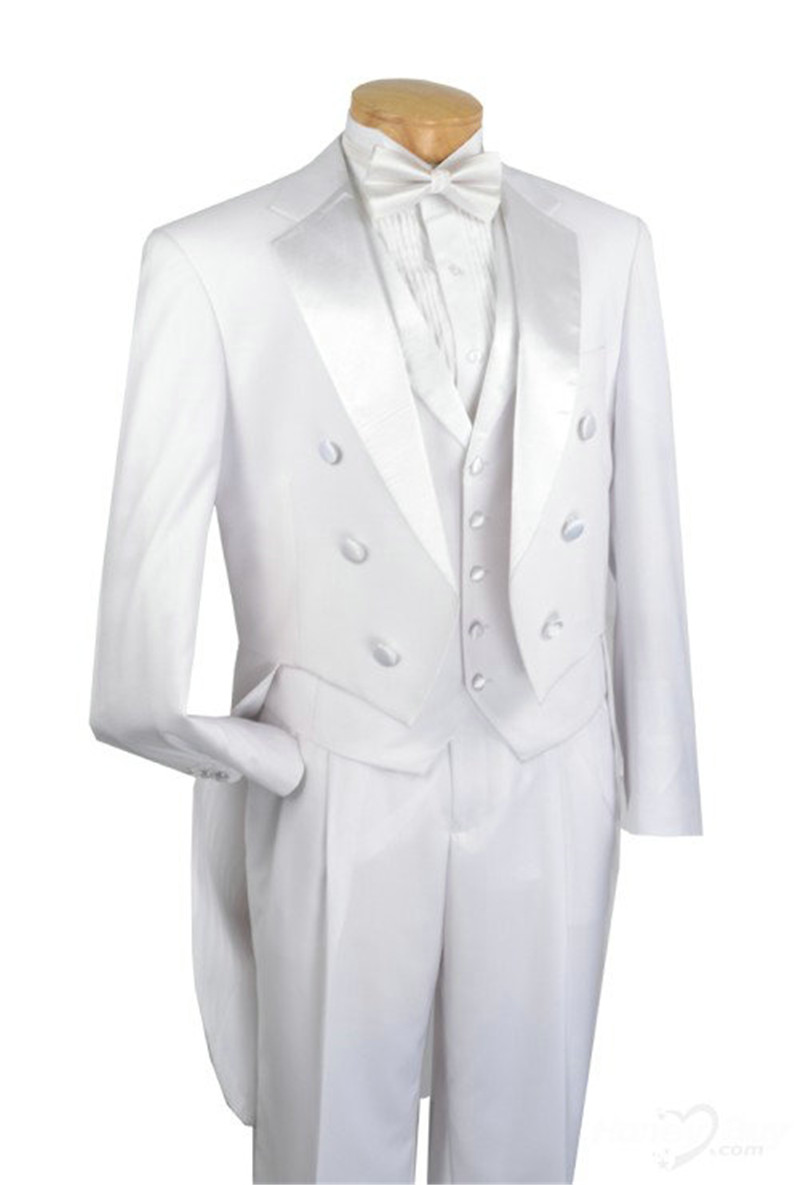 Groom Suits White Formal Royal Custom Notch Lapel Stylish ...