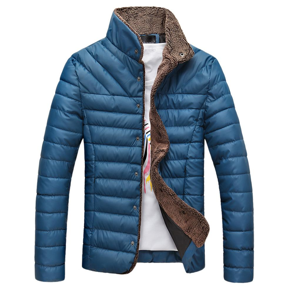 new Hot Sale Men Jacket Warm Stand-Collar Winter Wool Fashion Men Coat plus size M-3XL Free Shipping(China (Mainland))
