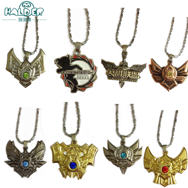 Hot Online Game League of New Legends LOL and the surrounding necklace Animation and the surrounding Fashion Pendant necklace(China (Mainland))