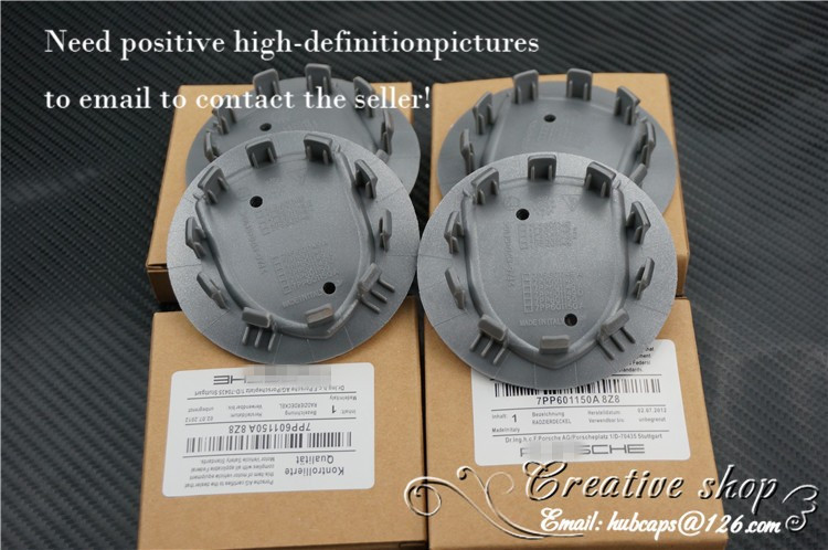 """4pcs, Wheel Emblem Center Hub Caps,for ,Silver,Black Color With GOLDEN , 75 mm, 3""""(China (Mainland))"""