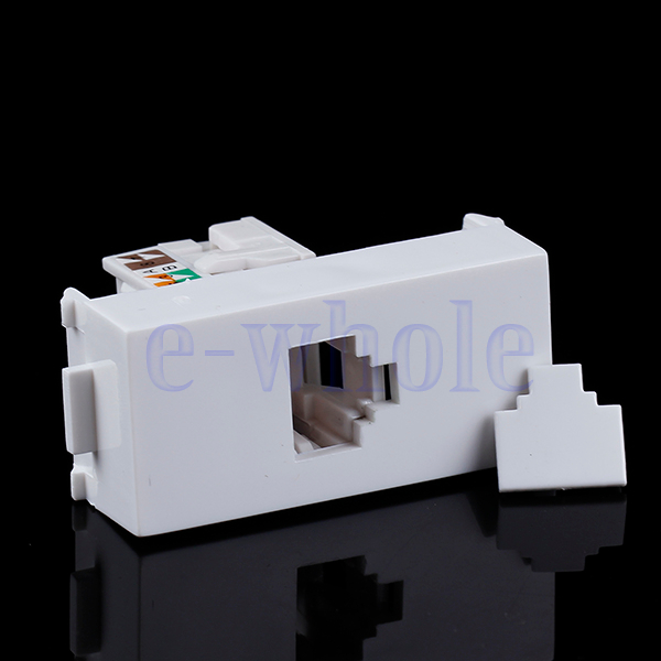 Wall Face Plate CAT5 RJ45 Network Wall-Plate Cabinet Jack Socket HG1058(China (Mainland))