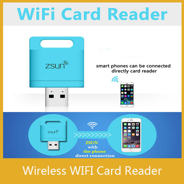 Zsun Wireless Wifi Card Reader Extended Phone Memory U Disk Mobile Storage USB Flash Drive For Android/IOS/Windows Phone(China (Mainland))
