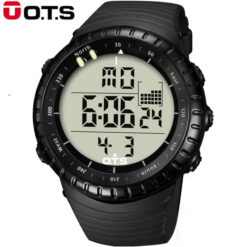 OTS Mens Watches Top Brand Luxury Digital Sport Men Led Watches digital-watch clock Relogio Masculino Wrist Watches For Men 2016(China (Mainland))