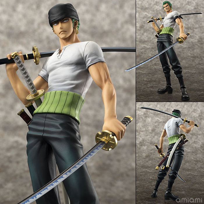 Anime One Piece POP Roronoa Zoro 10th Anniversary PVC Action Figure Model Collection Toy 21cm OPFG454<br><br>Aliexpress