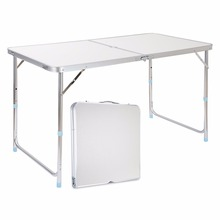 55 Lb Capacity FOLD TABLE Finether Height-Adjustable Aluminum Folding Table For Camping Tailgating Pinics BBQs,Dinning and Party(China (Mainland))