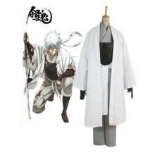 Gintama Shiroyasha Gintoki Kimono Unisex Cosplay Costume