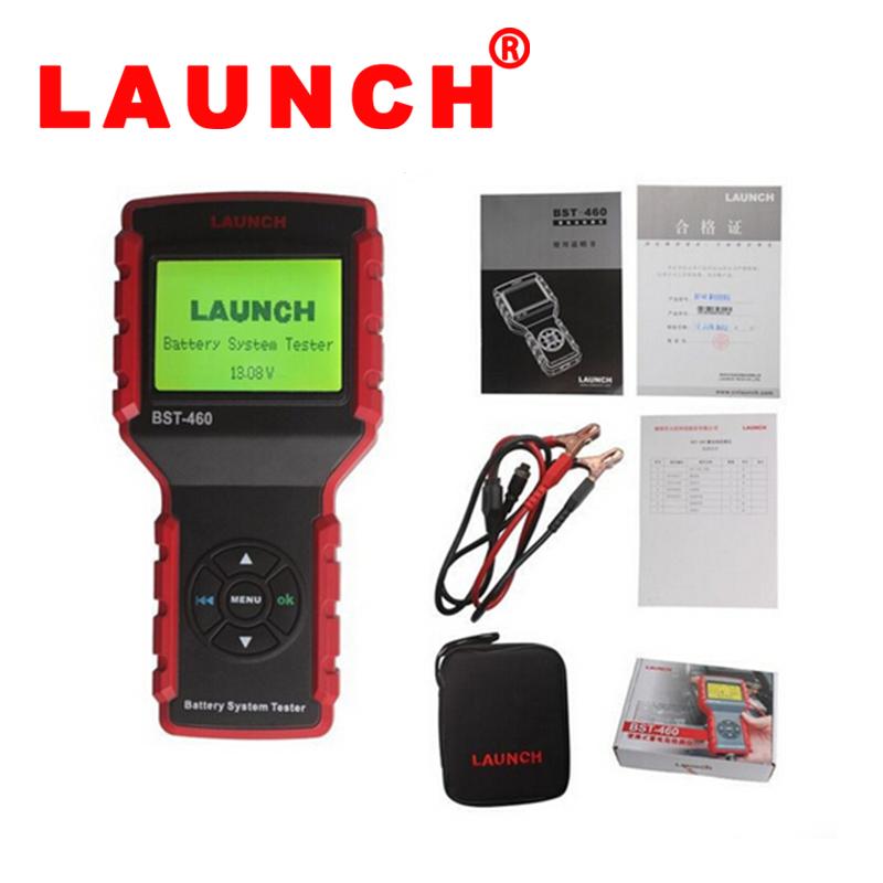 Оригинал старта BST-460 тестер аккумулятора системы BST460 анализатор батареи азиатской/Европейской/американской версии для 6В 12В 24В DHL бесплатно