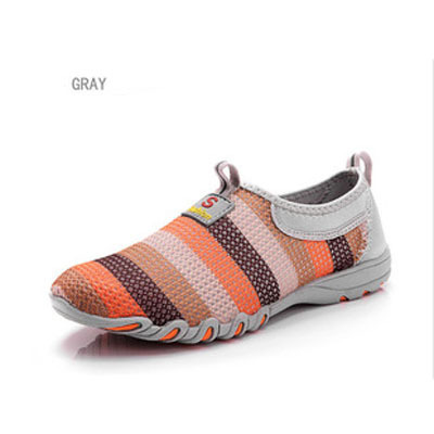 2015 the spring and autumn new rainbow color net surface breathable running shoes women casual athletic shoes light manufacturer(China (Mainland))