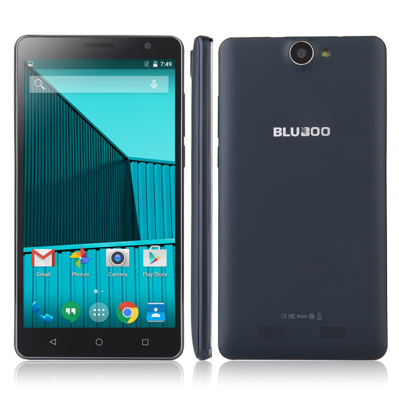 New Original Bluboo X550 5300mAh Battery 4G LTE 5.5inch Mobile Phone 2GB RAM 16GB ROM MTK6735 1.3 GHz Quad Core Android 5.1 13MP(China (Mainland))