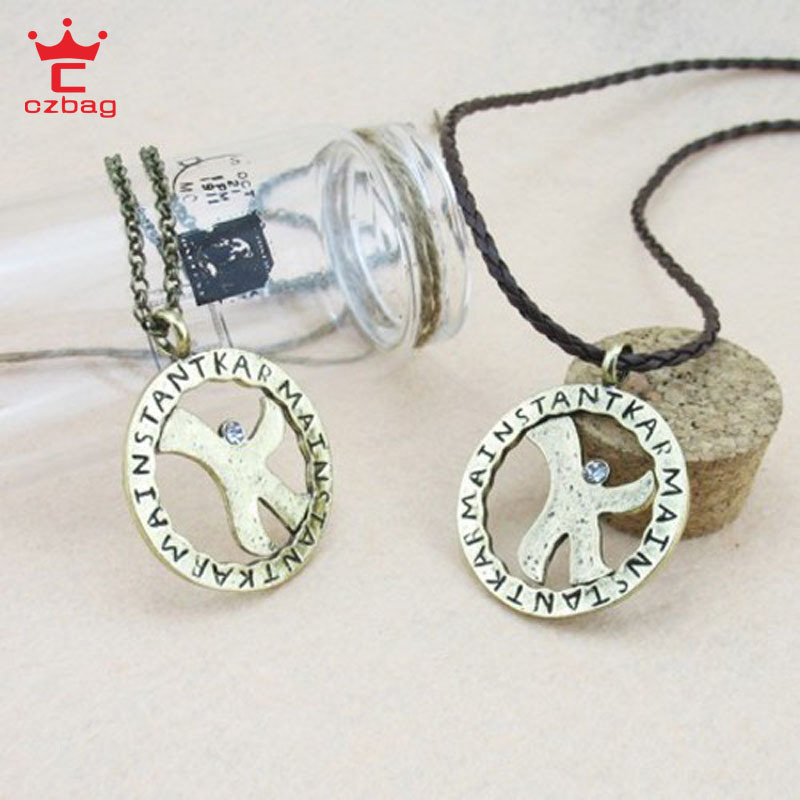 Fashion New 2015 Kpop Style Vintage Necklace Women Men Dream High Luck Star Pendant K Necklaces