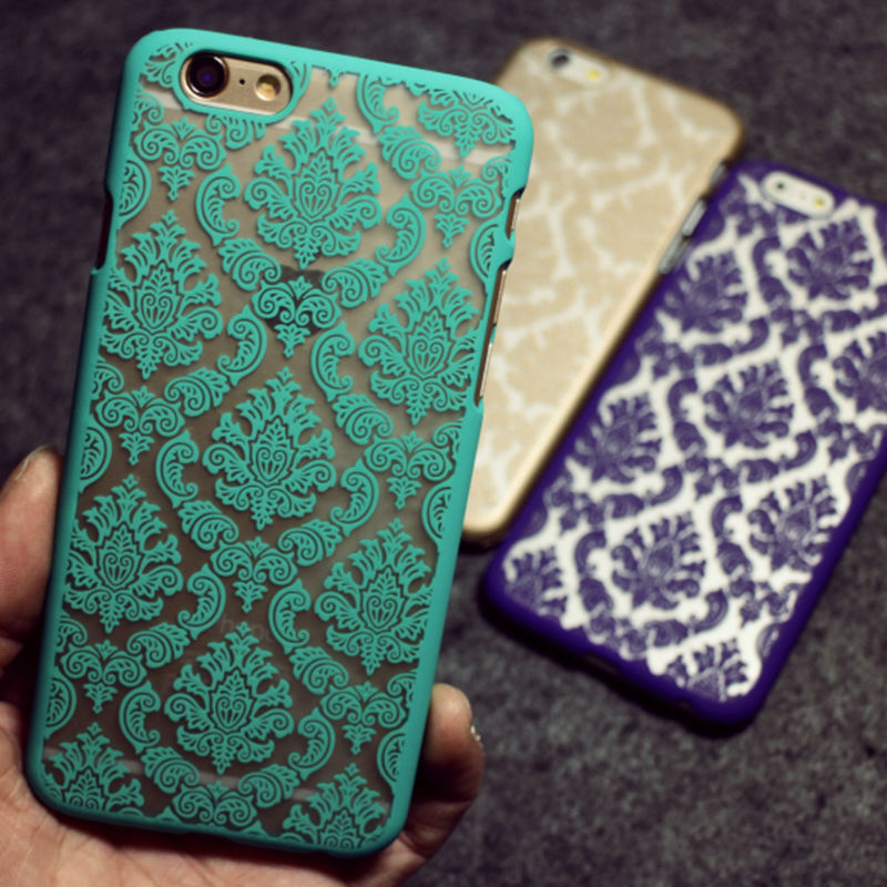 Phone case for Apple iphone 5 5s 6 6s Plus case Cases Vintage Flower Pattern Fashion Luxury for iphone6S phone Back Cove
