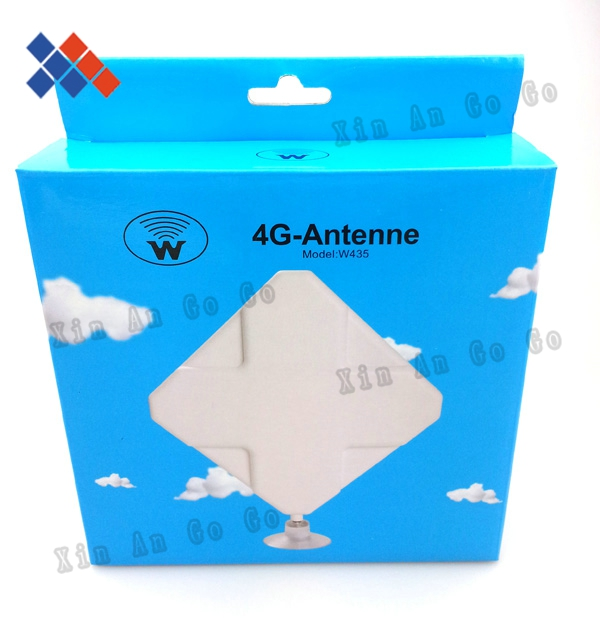 New Hotsale 4G 35DB antenna 2*CRC9 connector for LTE HUAWEI  4G Router antenna  free shipping