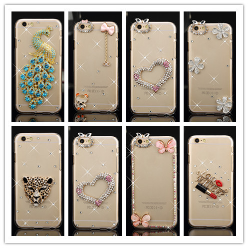 Luxury Bling Diamond Rhinestone cover Case For Apple Iphone 5 5s Shining Crystal protective case cover For Iphone 5s(China (Mainland))