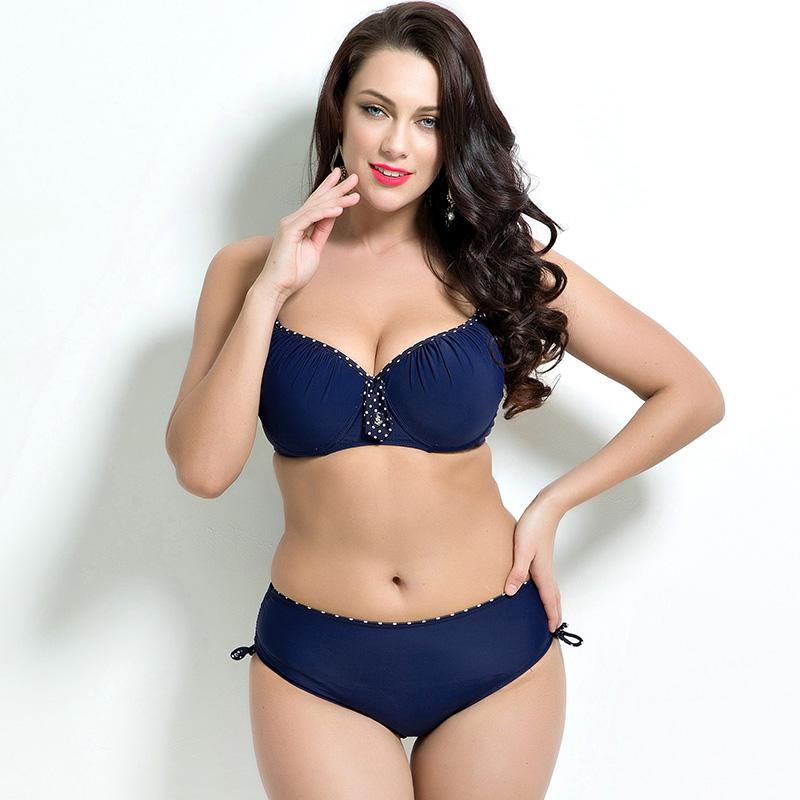 Plus size bikini bathing suit