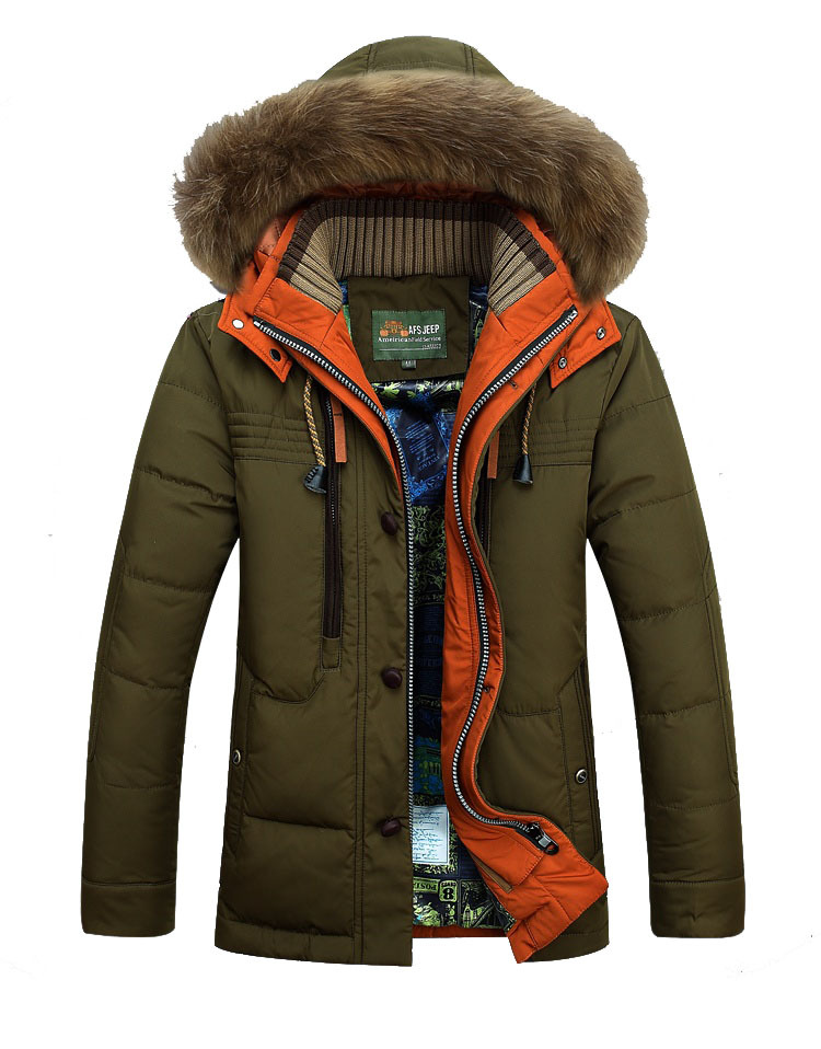 Hot sale 2014 new men s thermal Down Jacket High Quality men s outdoor Winter clothes
