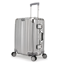 "Upgraded version 20""24""29""inch Aluminum frame+PC Suitcase,high-quality Luggage,Rolling Travel Bag,Trolley Case Box with Hook(China (Mainland))"