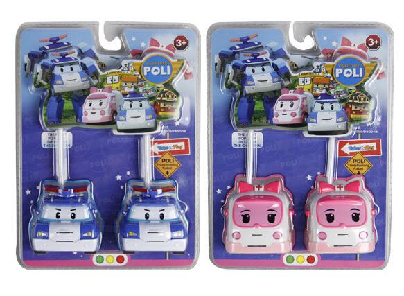 Hot Sale!intercom Robo car Poli Toy Korea Robot Car Transformation Toys Poli Robo car Toys Best Gifts For Kids(China (Mainland))