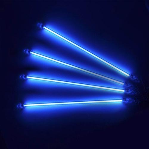 "FAVOR Blue 12"" Under Car Auto Underbody 4 Piece Neon Kit Lights UnderCar Light(China (Mainland))"