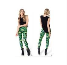 2015 new hot Milk Galaxy Print leggings fitness leggins for women pants Muscle Skull wholesale New fashion(China (Mainland))