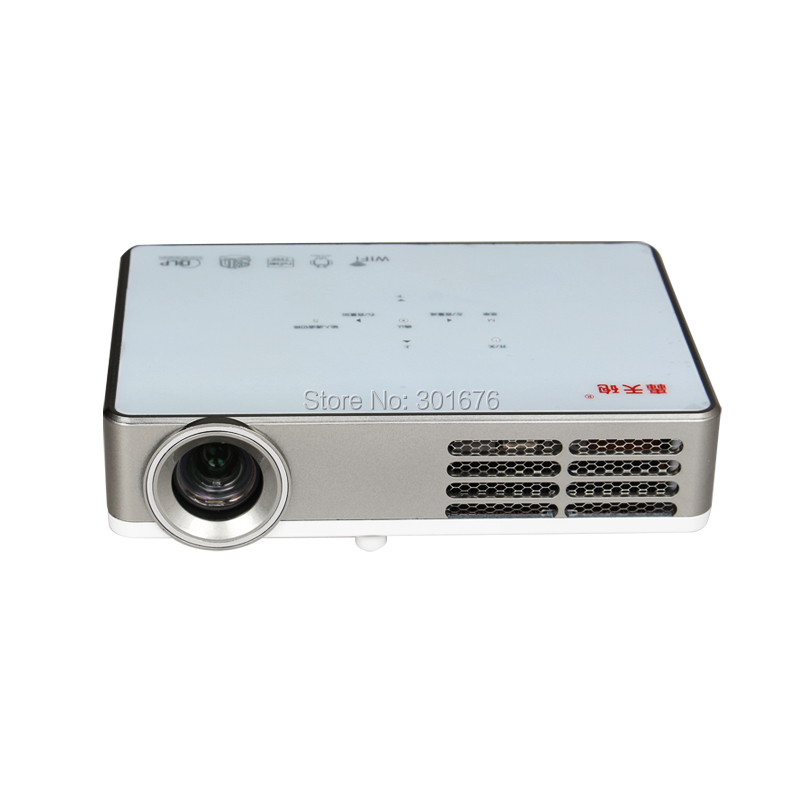 New mini handheld portable dlp projector full hd proyector for Highest lumen pocket projector