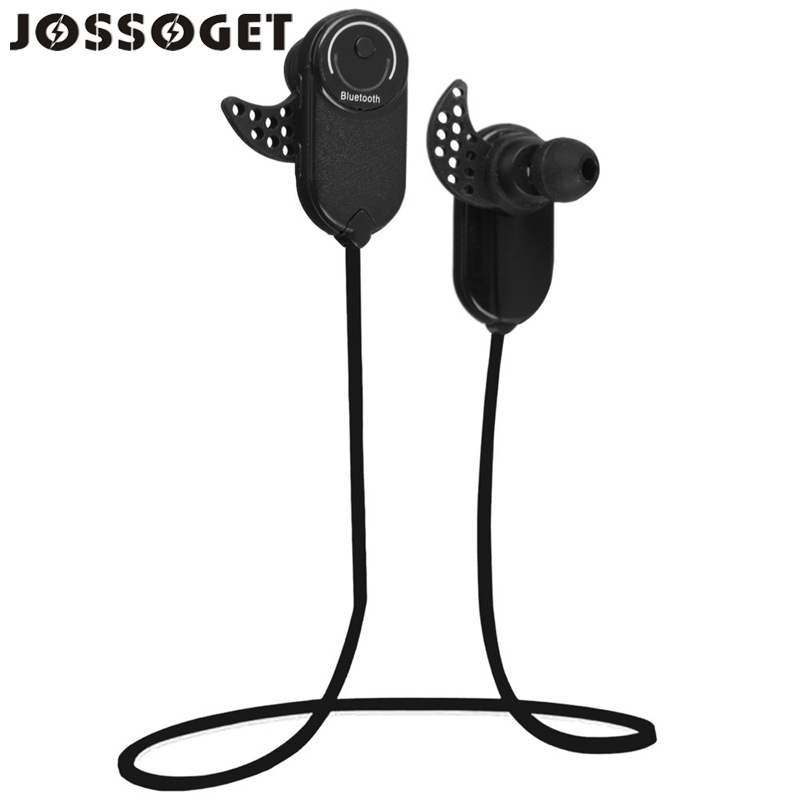 JOSSOGET Bluetooth V3.0 + EDR Wireless Sports Earphone Stereo Headset For a Mobile Phone Support Laptop Smartphone Music Black(China (Mainland))