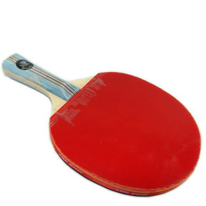 DHS DOUBLE HAPPINESS SPORTS 6002 TABLE TENNIS RACKET PING PONG PADDLE 6 STARS LONG HANDLE - Shanghai Golden fashion Trade Co., Ltd. store