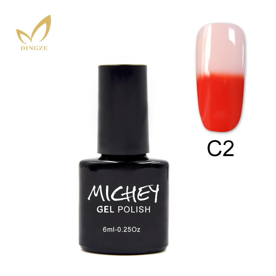 Professional Manufacturer UV Gel Color Changing Nail Polish Thermo Gel Lacquer LED Polish Gel 1pcs Free Shipping(China (Mainland))