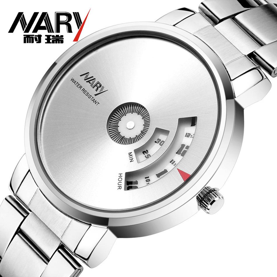 NARYSplendid Новый Роскошный Моды для Мужчин Кварцевые Часы Аксессуары Одежды Повседневная Прохладный Часы Бренд Мужской наручные часы relogio masculino