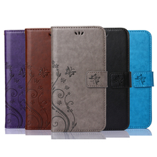 Luxury Retro Flip Case For Lenovo A2010 /A2010-a PU Leather + Soft Silicon Wallet Stand Cover For Lenovo A2010 Case phone Fundas