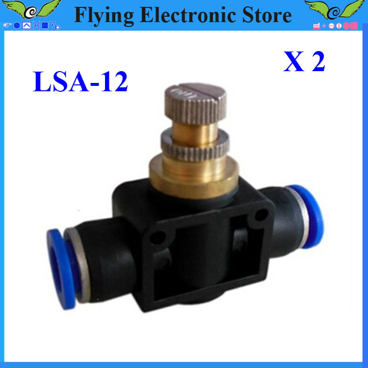 Free shipping,2pcs LSA-12 Pneumatic quick joint fittings throttle tracheal plastic socket(China (Mainland))